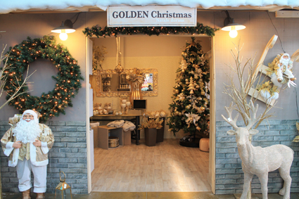 1) Al Centro Verde Caravaggio (Bg), oltre all'esteso vivaio, l'estemporaneo Christmas garden