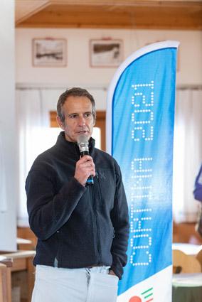 Alessandro Benetton, presidente della fondazione Cortina 2021 (foto Martina De Biasi)