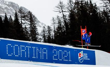 Un'immagine simbolo di Cortina 2021