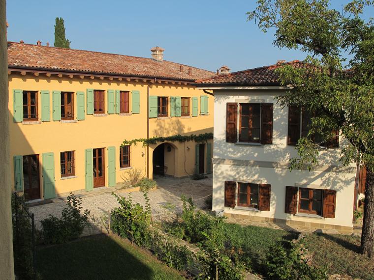 3) Oasi di Galbusera Bianca, interno del borgo ristrutturato