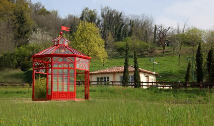 4) Borgo di Mustonate, un gazebo