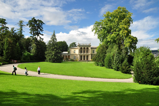Il museo Rietberg, allogato nel Rieterpark di Zurigo