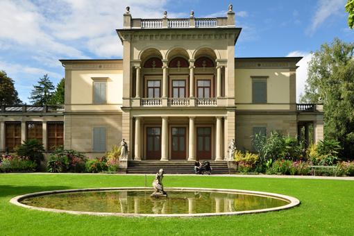 L'ex-villa Wesendonck, oggi sede del Museo Rietberg, nel Rieterpark