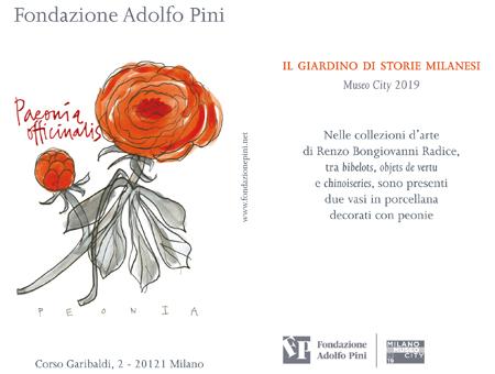 La Peonia scelta dalla Fondazione Adolfo Pini
