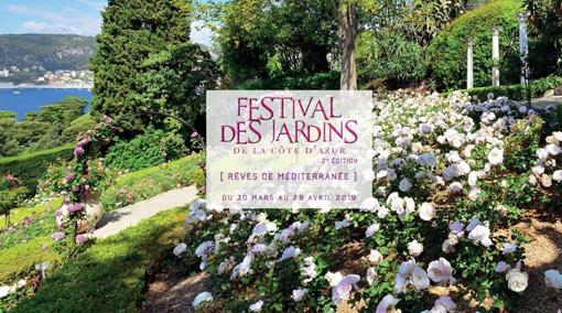 Il manifesto del Festival des Jardins de la Co?te d'Azur