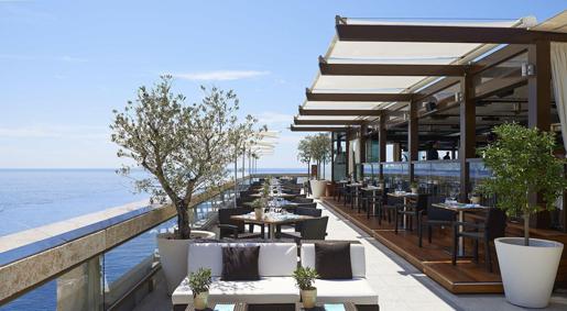 Fairmont Monte-Carlo, Horizon Deck, restaurant & champagne bar
