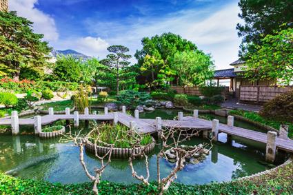 Il Giardino Giapponese di Monaco, paesaggista Yasuo Beppu