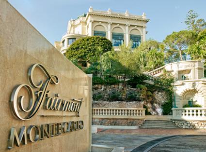 Fairmont Monte-Carlo, l'entrata