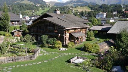 Il compound de Les Fermes de Marie, a Megeve, Alta Savoia