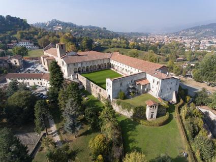 L'ex-complesso monastico di S. Agostino, oggi Universita? di Bergamo