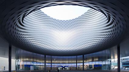 Fiera di Basilea, la nuova hall, progetto di Herzog & de Meuron