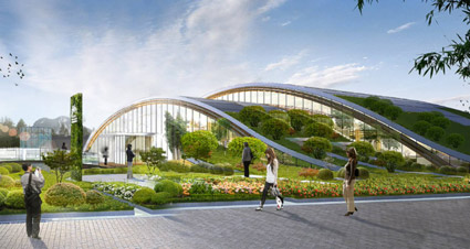 Progetto, INBAR Garden Pavilion, progettato da Mauricio Cardenas Laverde