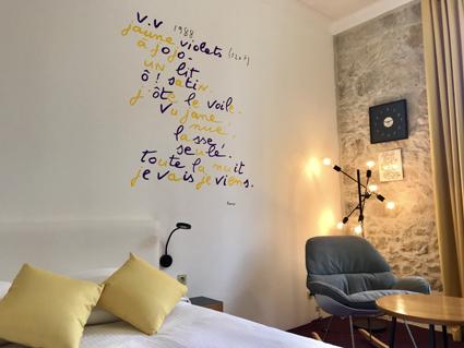Hotel WindsoR, camera permanente firmata da Jean Dupuy