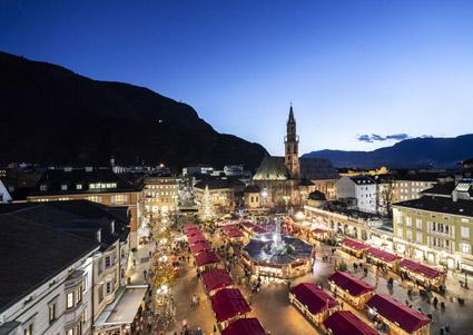 Il 29° Mercatino natalizio di Bolzano (foto Alex Filz)