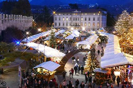 Il 26° Mercatino di Natale a Trento (foto L. Franceschi)