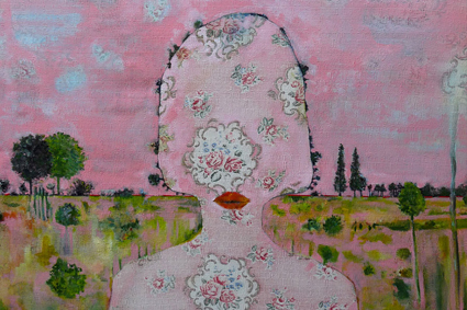 Anne-Sophie Viallon, De?-Paysage, Moving Art gallery, Nizza