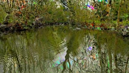 Jacques Perconte, Mille Lumie?res (Paysages poitevins), 2014