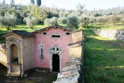 Fonte della Fata Morgana, collina di Fattucchia, Bagno a Ripoli, FI (ph. Clara Vannucci)
