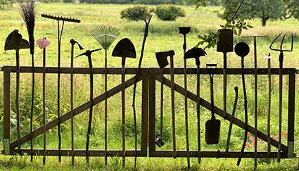 Un cancello del Goetheanum di Dornach, Basilea (Anthroposophie.ch)