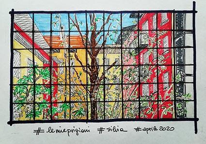 Silvia Sala, Le mie prigioni, per il contest Sketchmob, aprile 2020