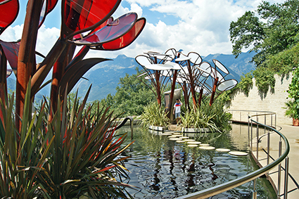 Giardini di Castel Trauttmansdorff, Merano, il Giardino degli innamorati, 2016
