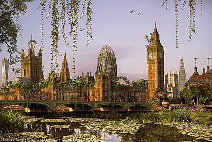 Chris Morin-Eitner, Londra, giungla al sole nascente