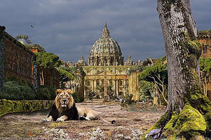 Chris Morin-Eitner, Roma, piazza San Pietro in Vaticano