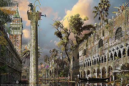 Chris Morin-Eitner, Venezia, piazza San Marco, 2019