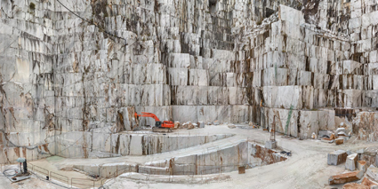 Cave di marmo di Carrara, Cava di Canalgrande #2, Carrara (Italy), 2016