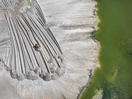 Phosphor Tailings Pond #4, near Lakeland Florida (USA ),2012