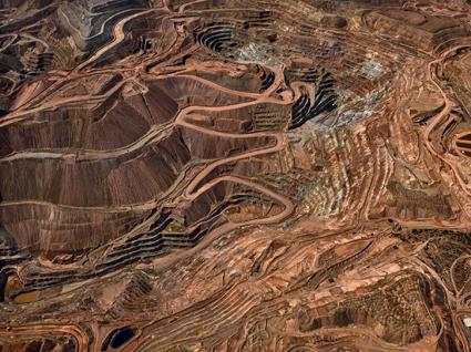 Tyrone Mine #3, Silver City, New Mexico (Usa), 2012