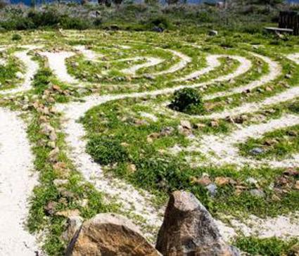 Immagine di ispirazione del Labirinto edule del Parco di Villa Tasca
