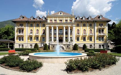 Grand hotel imperial, la facciata