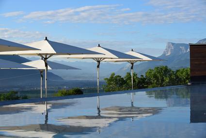 Giardino Marling, la sky pool sul tetto