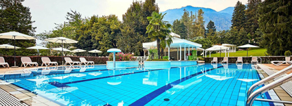 Grand hotel Imperial, piscina all'aperto