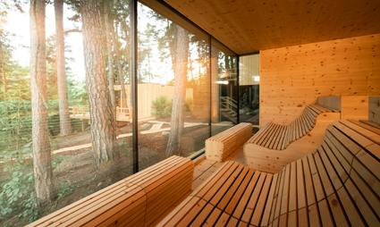 Adler Lodge Ritten, sauna anche per forest bathing
