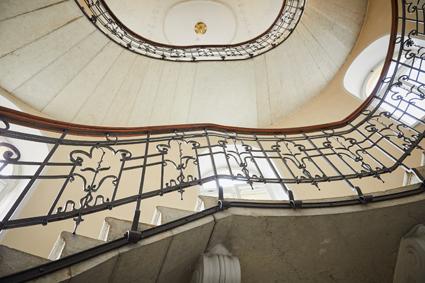 Grand hotel Imperial, lo scalone