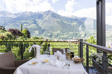 Giardino Marling, il ristorante panoramico all'aperto