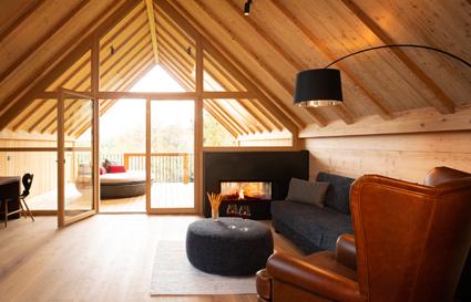 Una suite del bio-resort