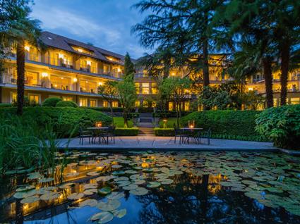 Villa Eden Leading Park Retreat, il laghetto delle ninfee