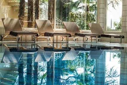 Villa Eden Leading Park Retreat, area relax nella spa