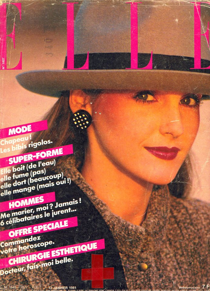 (rivista Elle 1981)