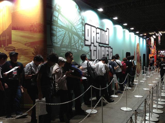 File al Tokyo Game Show per vedere Grand Theft Auto V