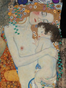 Klimt abbraccio