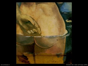 Dalì - Nudo nell'acqua