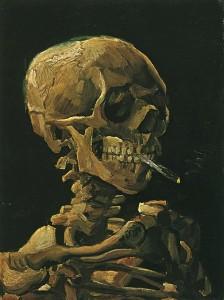 Vincent van Gogh - Scheletro che fuma