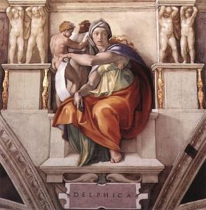 Michelangelo -Sibilla Delfica