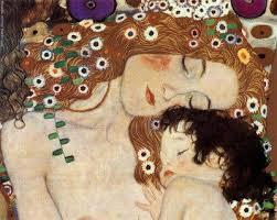 Klimt -Madre figlio