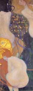 Klimt Gustav - Pesci d'oro
