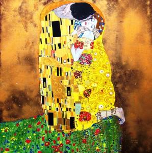 Klimt Gustave -Il bacio
